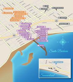 Winery & Tasting Room Map - Santa Barbara Urban Wine Trail