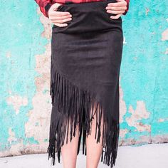 Dance through the streets in this Fringe Benefits Skirt.