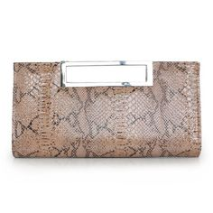 Sassy PU Handbag With Serpentine Pattern   Read More:   http://www.fashionant.com/sassy-pu-handbag-with-serpentine-pattern-1044.html