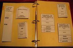 lapbook verbes