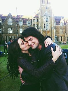 Dimitri and Rose (Danila Kozlovsky and Zoey Deutch) - Vampire Academy (2014)