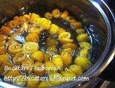 """Bucătăreli la borcan: Dulceaţă de """"portomelci"""" Blog"""