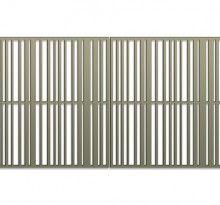 pattern library bok modern b21 railing fences gates. Black Bedroom Furniture Sets. Home Design Ideas