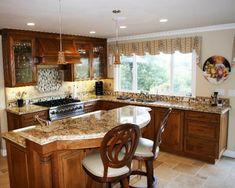 100 Küchen Designs – Möbel, Arbeitsplatten und zahlreiche Einrichtungslösungen - Küchen Designs klassisch einrichtung holz möbel marmor arbeitsplatte