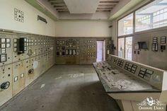 Abandoned Kraftwerk Cyclonkessel Papierfabrik H Germany Powerplant New Turbine Control Room