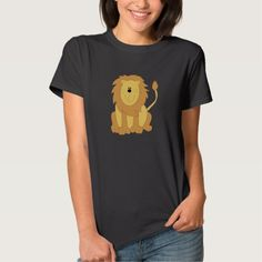 Cute Animated Lion T-shirt