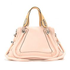 Chloé Paraty Medium Leather Shoulder Bag ($2,195) via Polyvore