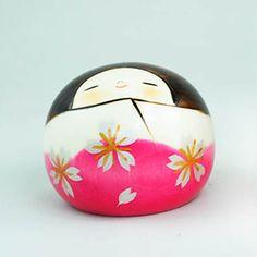 BESTJAPAN Japanese Kokeshi Doll -Hanayama (Flower Mountain)  #kokeshi #japanese #usaburo #japan