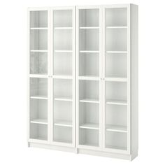Bookcase with Glass Doors Ikea . Bookcase with Glass Doors Ikea . Billy Oxberg Bookcase with Panel Glass Doors White Bookcase With Glass Doors, Glass Cabinet Doors, Glass Shelves, Bookcase White, Small Bookcase, Horizontal Bookcase, Wooden Bookcase, Wall Shelves, Billy Oxberg