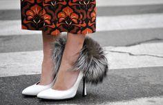 fur stilettos #shoes #stilettos #womenaccesories