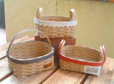 Wicker Baskets, Diy And Crafts, Picnic, Handmade, Decor, Natural, Decoration, Hand Made, Decorating