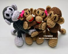 free crochet pattern, amigurumi, curtain ties