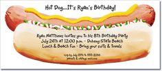 hot dog invites