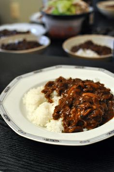 Hayashi Rice, Japanese-style Hashed Beef with Rice