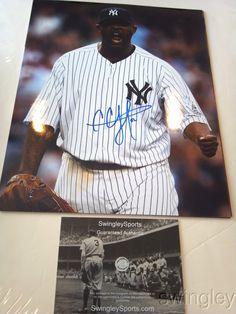 CC Sabathia Signed New York Yankees 11x14 Photo