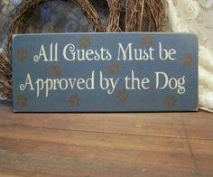 Hond moet het goed vinden