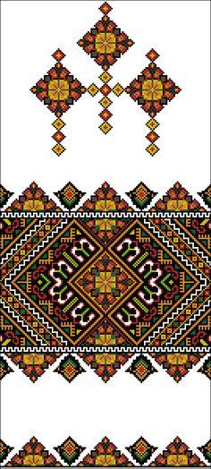 PiXS.ru / загрузить картинку для форума / фото альбомы / обмен файлами Russian Cross Stitch, Just Cross Stitch, Beaded Cross Stitch, Cross Stitch Borders, Cross Stitch Patterns, Folk Embroidery, Cross Stitch Embroidery, Embroidery Patterns, Palestinian Embroidery