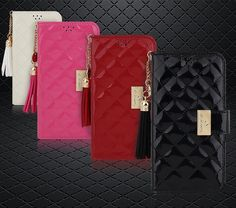 MSG ALYN DIARY WALLET QUILTED FASHION CASE FOR IPHONE 5 & 5S