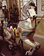 Cafesjian's Carousel - PTC Fourth Row Inner Horse Adopted By Dorothy Longfellow