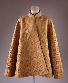 Mans robe second half of 17th century mughal india painted this mantle made with a sixteenth century ming dynasty velvet is purely european in form the gold thread is typically chinese in style gilded paper sciox Choice Image