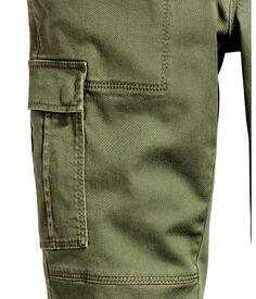Cargo Pants   Khaki green   Ladies   H&M US