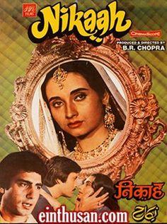 Nikaah Hindi Movie Online - Raj Babbar, Deepak Parashar and Salma Agha. Directed by B. R. Chopra. Music by Ravi. 1982 [U] w.eng.subs