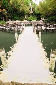 30 ideas for a naturally elegant wedding decorating 30th and unique aisles altars and chuppahs outdoor wedding ceremoniesoutdoor weddingsunique junglespirit Choice Image