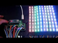 Creating RGB light effects using RGB led light strip and development board arduino nano. making Lighting project using arduino & step by step instructions Diy Electronics, Electronics Projects, Arduino Home Automation, Arduino Led, Arduino Programming, Christmas Light Show, Deco Led, Led Projects, Learning