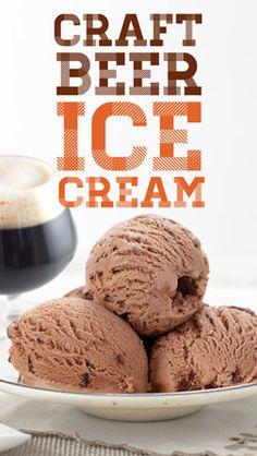 I Scream, You Scream: It's Craft Beer Ice Cream! #CookingwithBeer