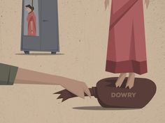 Stop Dowry Dowry System In India, Poster On, Poster Ideas, Perspective Art, Entrance Exam, Poster Making, Art Sketches, Art Gallery, Concept