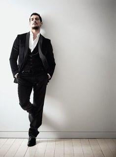 David Gandy by Kate MaCleod for Male Model Scene