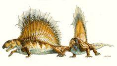 Michael Skrepnick, Dimetrodon http://www.dinosaursinart.com/
