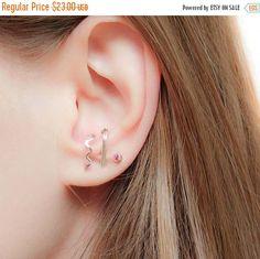 Sale  Ear suspender Earrings-Suspender Earrings by JewelsByMoonli