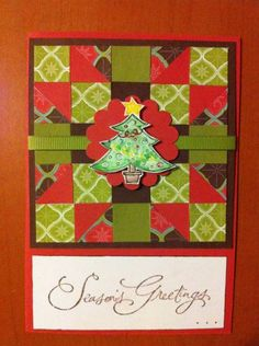 Xmas quilt by hinchy78 - Cards and Paper Crafts at Splitcoaststampers