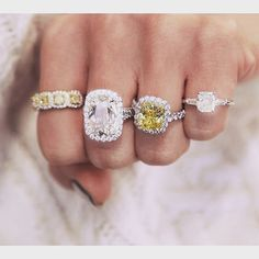 Repin if you love yellow diamonds!