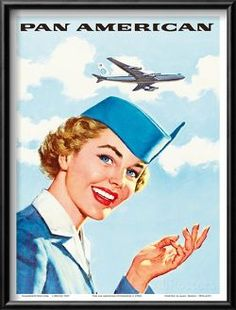 Pan Am American Stewardess Posters at AllPosters.com