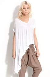 JNBY Asymmetrical Draped T-Shirt