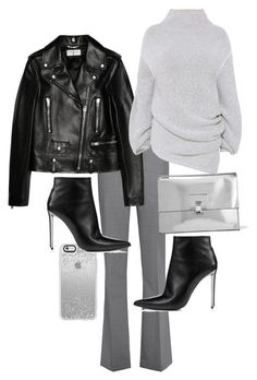 """""""Untitled #22909"""" by florencia95 ❤ liked on Polyvore featuring Theory, Proenza Schouler, Yves Saint Laurent and STELLA McCARTNEY"""