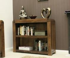Shiro Walnut Low Bookcase http://solidwoodfurniture.co/product-details-pine-furnitures-3038-shiro-walnut-low-bookcase.html