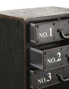Zentique Andre Iron Cabinet