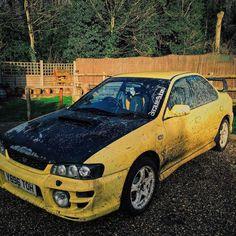 #off-road #rally #car #yellow #subarunation #subaruimpreza #subaruporn #subaruwrx #Subaru #imprezasport #imprezawrx #impreza #awd #awdarmy #dirty #muddy #mud #woods #country #countryside #england #offroading #offroad #natue #photography #potd #instagood #instadaily #racecar #rallycar by nate2391