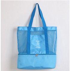 Multifunctional Thermal Cooler Beach Bag - Lunch Bag - PicNic Bag
