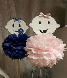 Baby shower dekoration.