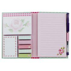 Polka Dot Sticky Notes Memo Folder