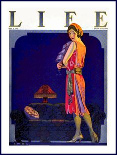 Clarence Coles Phillips - Life, 'The Leading Lady', 4 may (1922)