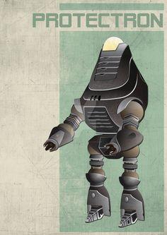 Fallout 3 Protectron by 4MindZapper.deviantart.com on @DeviantArt