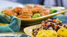 Spice up weeknight dinners! Chef Craig Strong shares recipes for chipotle chicken and bean salad, with just five main ingredients each.