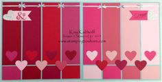 Follow My Heart Ombre 12x12 Scrapbook Pages, Kay Kalthoff, Stamping to Share, Stampin' Up!
