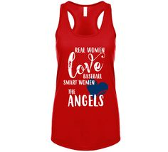 Real Women Love Baseball Smart Women Love Los Angeles A Baseball Fan Ladies Tank Top Smart Women, Real Women, Athletic Tank Tops, Lady, Shopping, Fashion, Moda, Intelligent Women, Fashion Styles