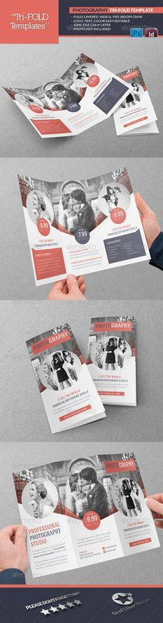 This tri-fold brochure is a good example of unity. Throughout all three folds the colors and design elements are consistent and work well together.